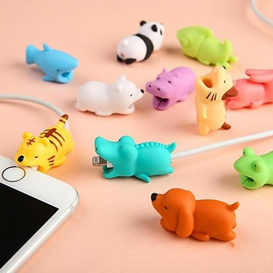 El protector de cable de carga para iPhone más kawaii