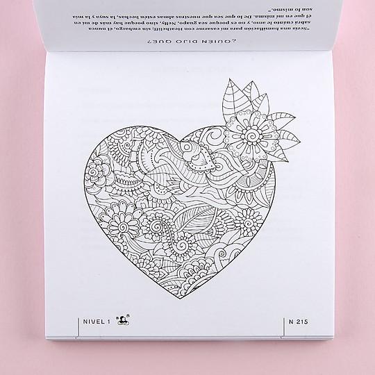 Incluye dibujos para colorear y relajarse