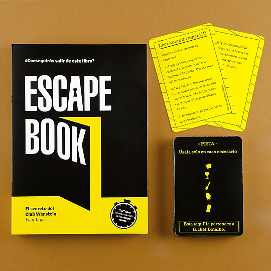 Escape book El secreto del Club Wanstein