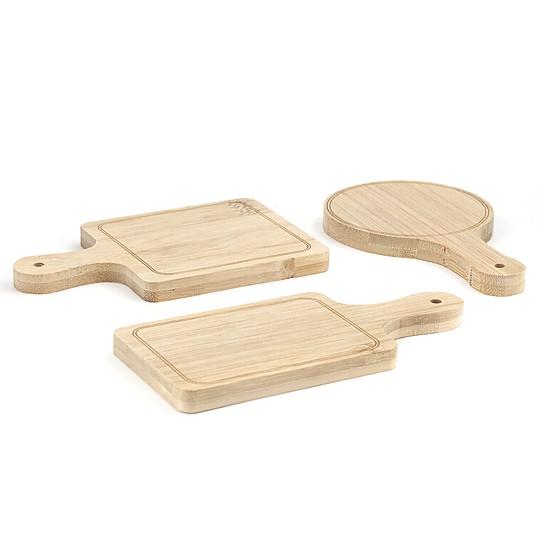 Fabricadas en bambú