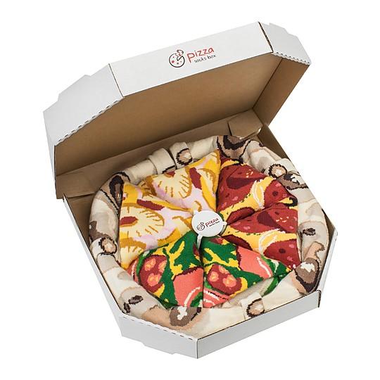 Calcetines pizza: originales y confortables