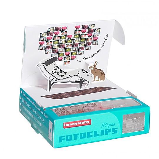 La caja contiene 100 clips