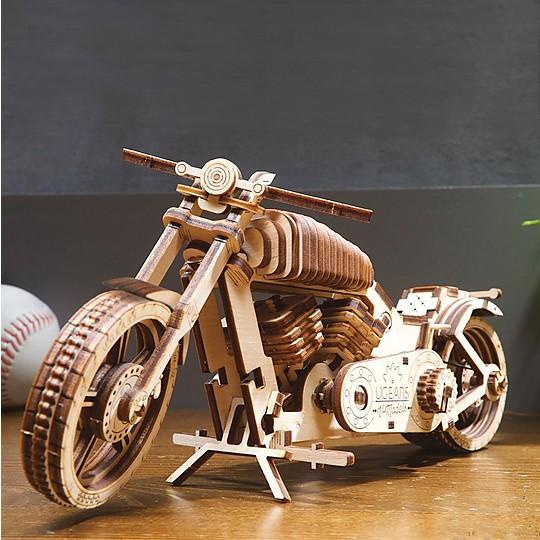 Construye esta moto de madera con tus propias manos