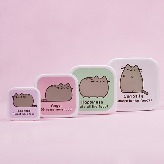 Los tuppers Pusheen son megacuquis