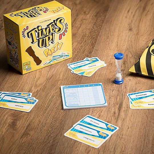 Time's Up! Party, el juego de cartas por equipos