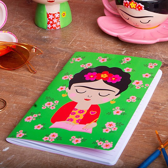 Un precioso cuaderno para fans de Frida Kahlo
