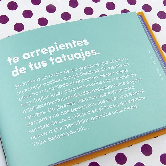 Escrito, diseñado e impreso en España