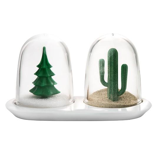 Nieve para el abeto, arena para el cactus