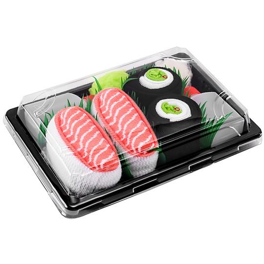 Los calcetines para los fans del sushi