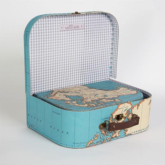 Las maletas se guardan una dentro de la otra