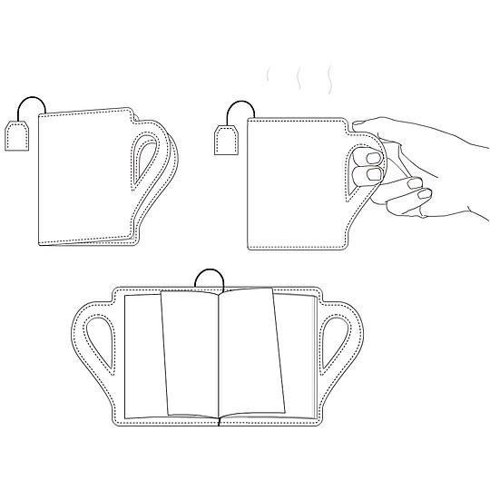 Ilustración de la BookCup