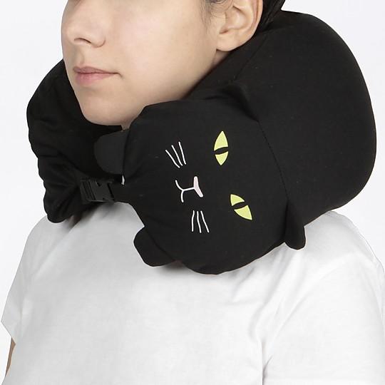 Una almohada de viaje para gatunos