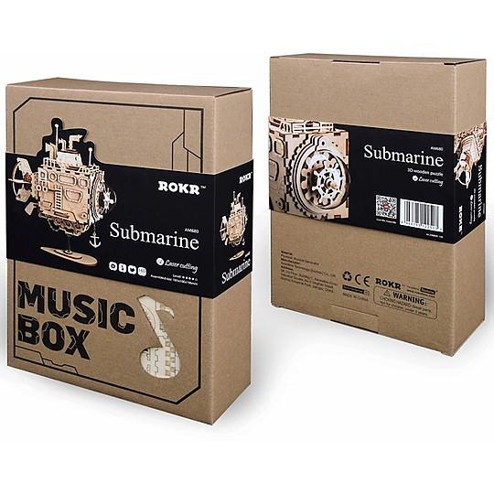Con caja de música en la que suena La Mer