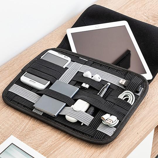 Una funda para tablet muy organizada