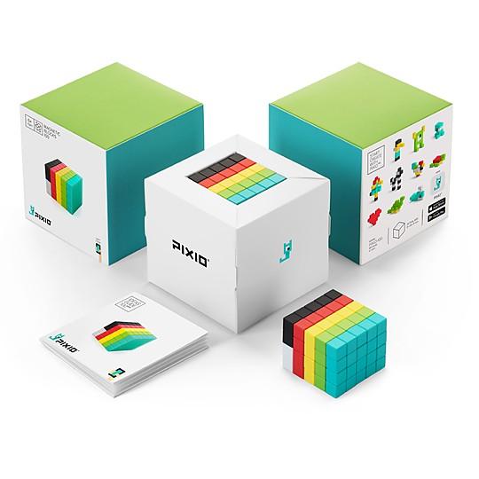 PIXIO 100: el juego de bloques de construcción magnéticos