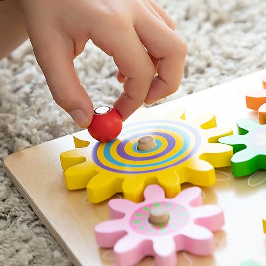 Inspirado en el método de aprendizaje Montessori