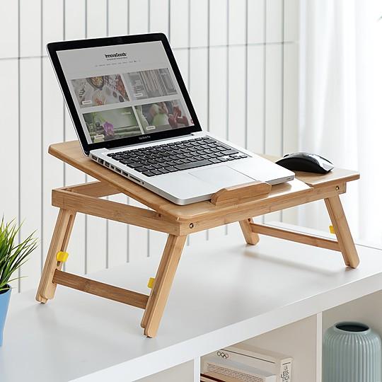 La mesa plegable de bambú con mejor diseño