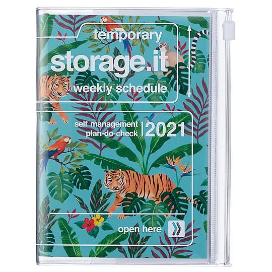 La agenda 2021 A5 de diseño japonés