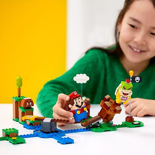 El pack inicial de Aventuras con Mario de LEGO