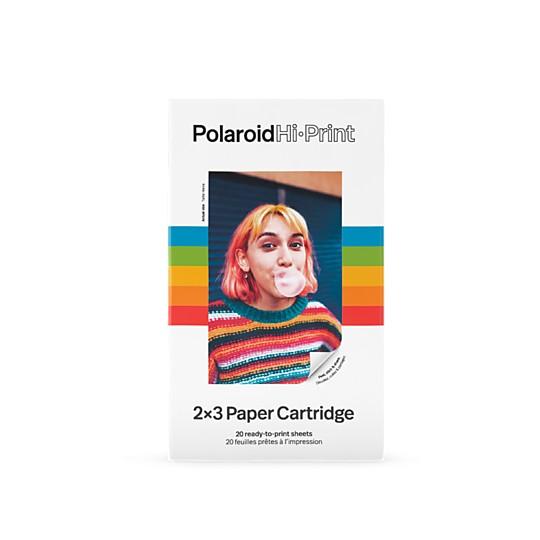 Cartuchos para la impresora de fotos Polaroid Hi-Print Pocket