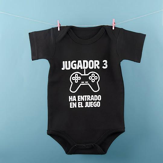 El body para bebés con un futuro gamer