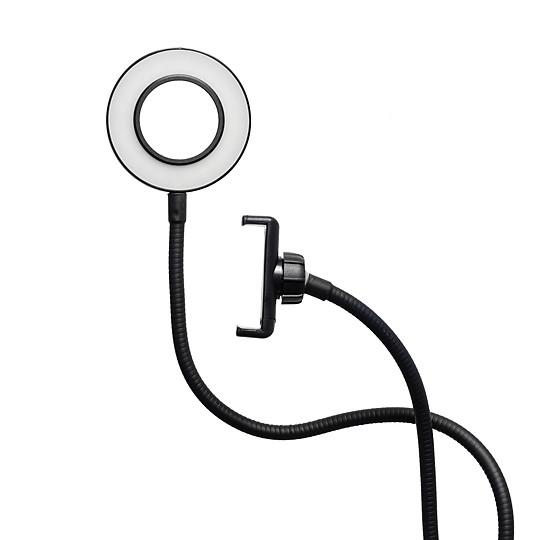 Luz LED, lo que implica un bajo consumo de energía