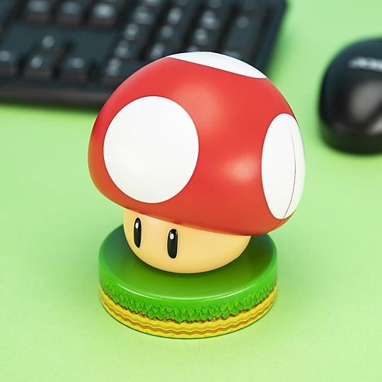 La lámpara seta de Super Mario es total