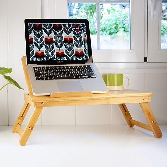 Bambita: la mesa plegable de bambú