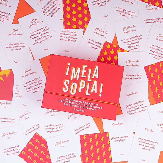 200 tarjetas con preguntas y confesiones sin pudores