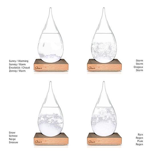 Así son los cristales que se forman según el tiempo que va a hacer