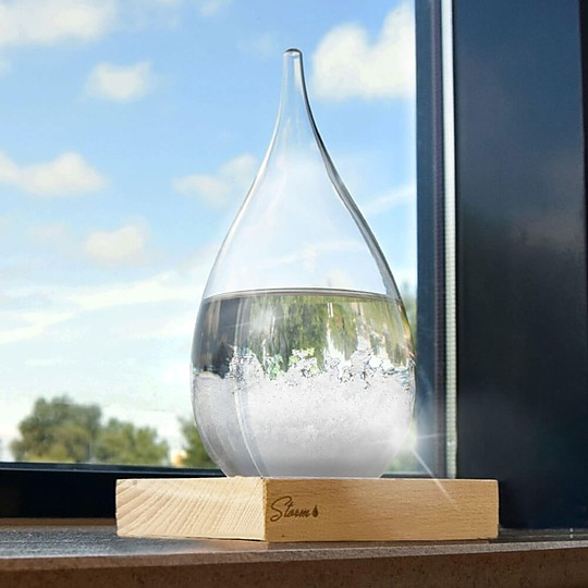 El Storm Glass: un original predictor del tiempo
