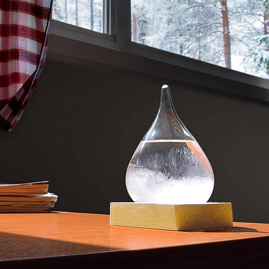El Storm Glass: un original predictor del tiempo