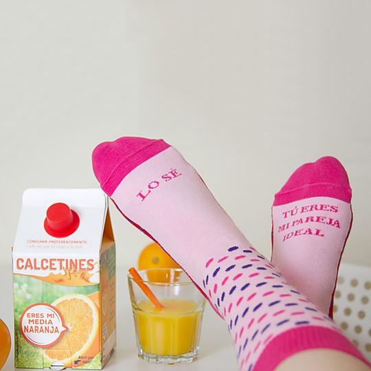 Mensaje de amor en tus pies