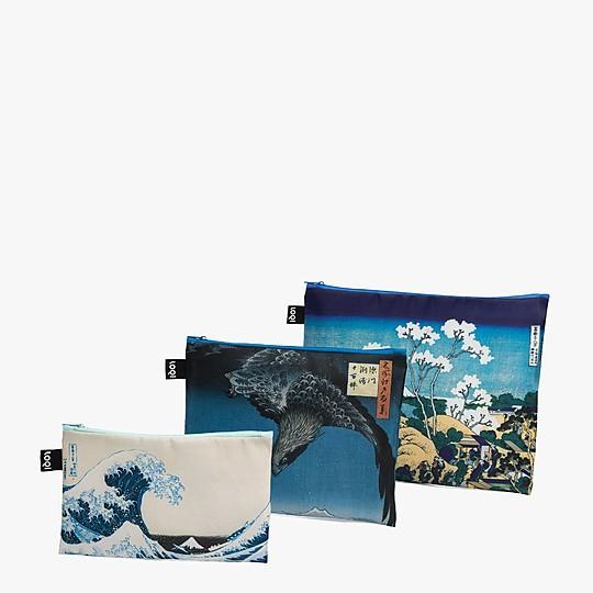 Set de tres bolsitas de tela de Loqi