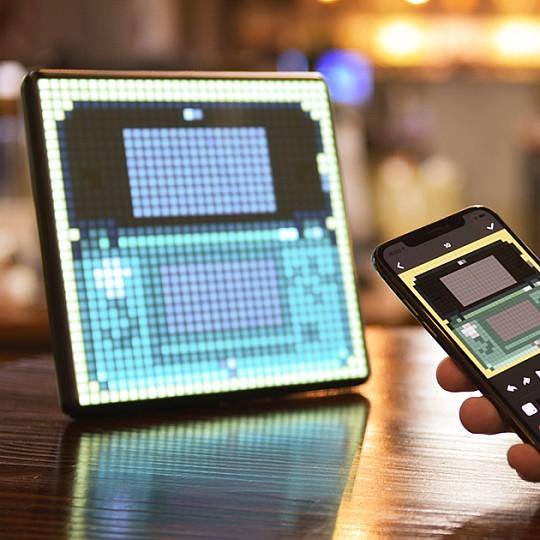 Pixoo Max: el panel multifunción gigante para crear pixel art
