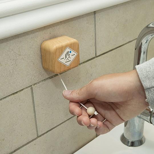 Un temporizador para lavarse las manos