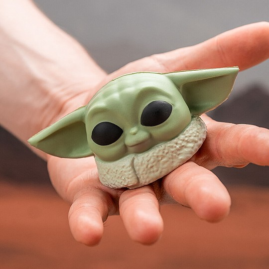 Baby Yoda en versión pelota antiestrés