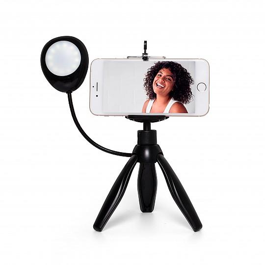 Vídeos y selfies con manos libres
