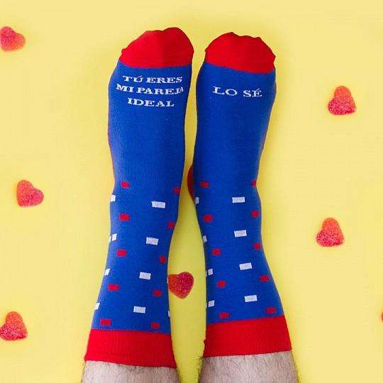 Declara tu amor con estos calcetines