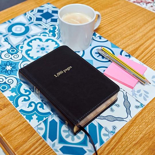 Cuaderno sostenible, necesita tres veces menos papel