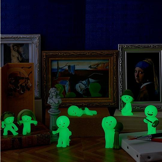¡Brillan en la oscuridad!