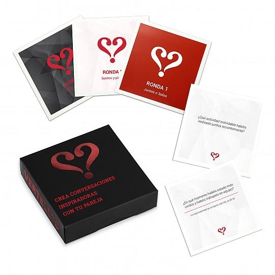 El juego de cartas de preguntas n.° 1 para parejas