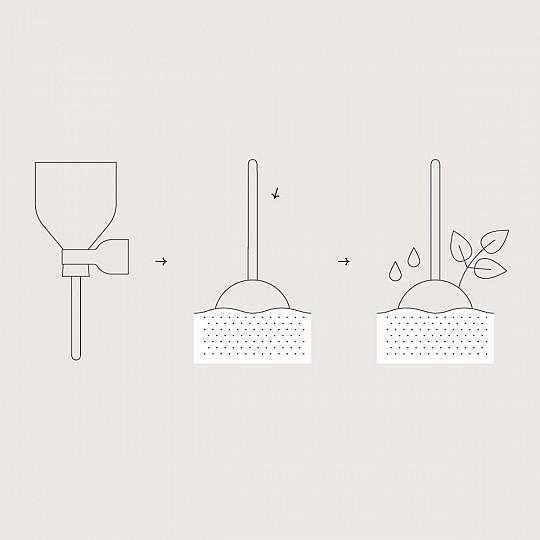 Planta la piruleta y haz crecer tus ingredientes