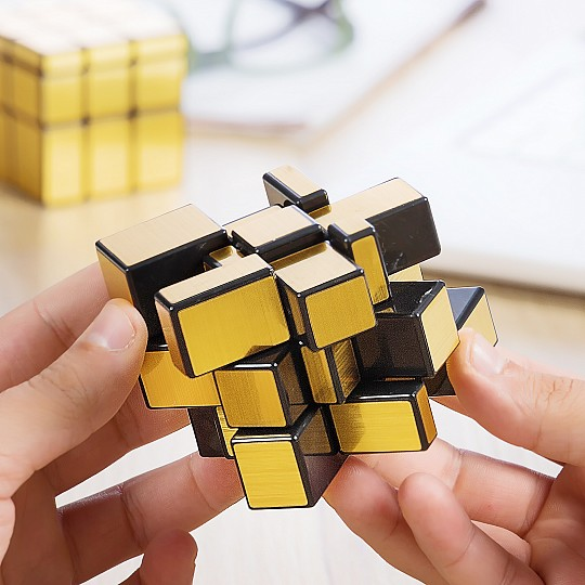 Un cubo de Rubik diferente
