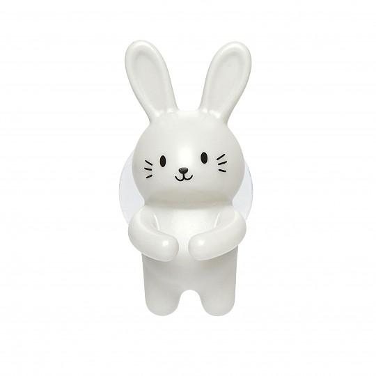 Puedes elegir el conejito blanco
