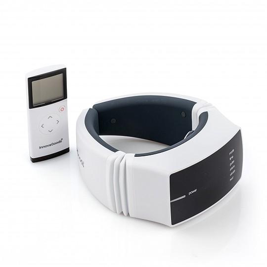 Tiene 3 tipos de masaje: vibración, electroestimulación y calor