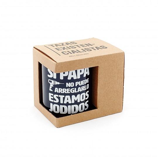 Embalada en una bonita caja de cartón natural