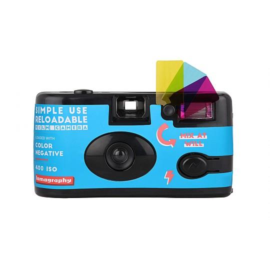 La cámara de uso simple de Lomography