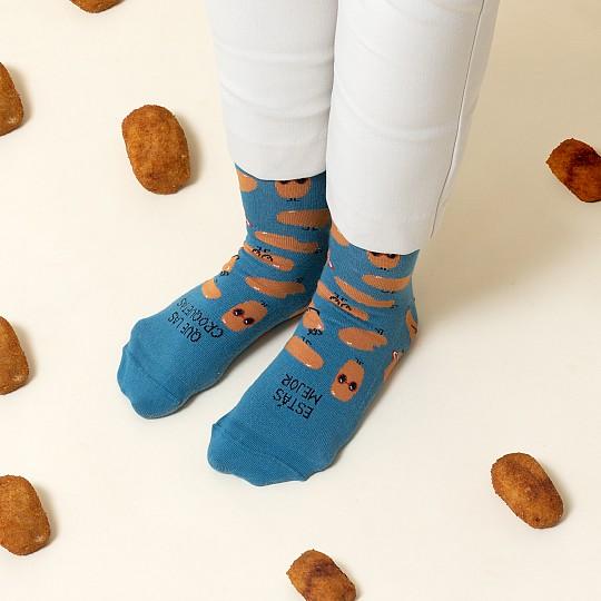 Calcetines para amantes de las croquetas