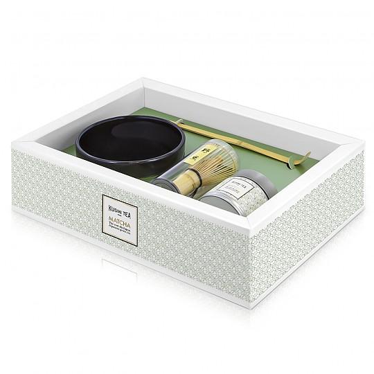 Kit completo para preparar té matcha